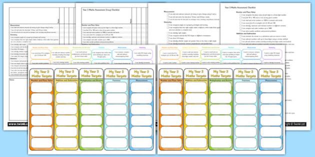 Year 3 Maths Assessment Pack - math, numeracy, assessment, assess