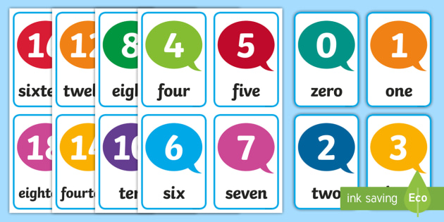 photo about Free Printable Number Cards 1-20 titled Quantity Flash Playing cards 1-20 - figures, amount playing cards, flashcards