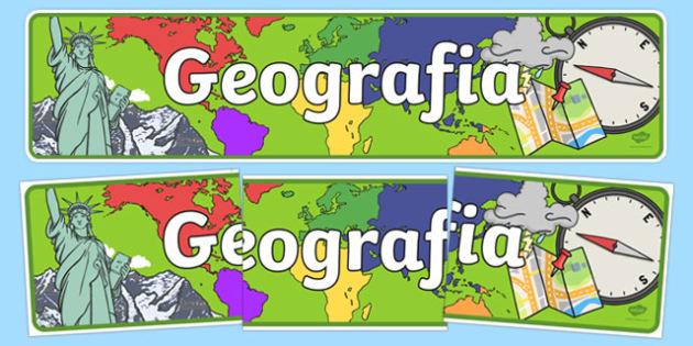 Banner Geografia po polsku