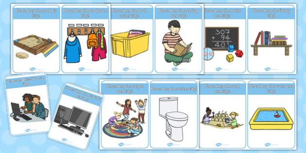 Keep Area Tidy Signs - keep, tidy, area, signs, display, keep tidy