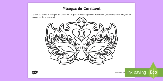 غير اساسي محور قطران Coloriage Masque De Carnaval Psidiagnosticins Com