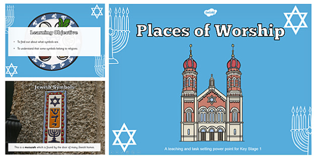 Jewish Symbols Teaching And Task Setting Powerpoint Jewish