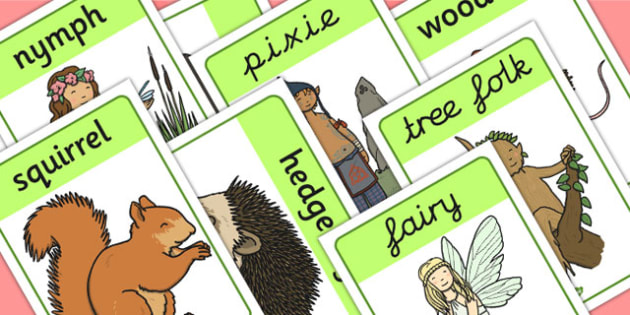 Woodland Creatures Display Posters - display, posters, woodland