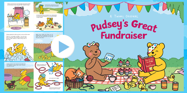 Pudsey's Great Fundraiser Story PowerPoint