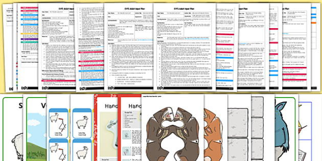 EYFS The Three Billy Goats Gruff Adult Input Planning and Resource Pack