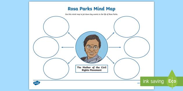Rosa Parks Mind Map Worksheet Worksheet Civil Rights
