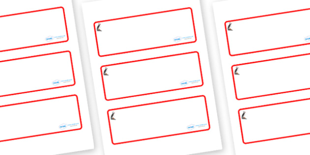 Puffin Themed Editable Drawer-Peg-Name Labels (Blank) - Themed Classroom Label Templates, Resource Labels, Name Labels, Editable Labels, Drawer Labels, Coat Peg Labels, Peg Label, KS1 Labels, Foundation Labels, Foundation Stage Labels, Teaching Label
