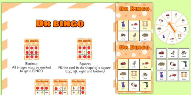 DR Spinner Bingo - dr, spinner bingo, spinner, bingo, activity, game