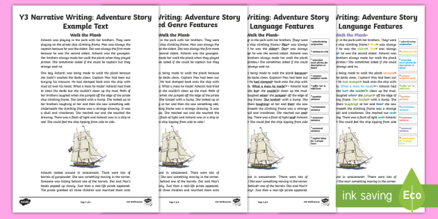 Year 3 Narrative Adventure Structure And Language Features