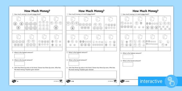 adding coins homework activity sheets maths homework money addition. Black Bedroom Furniture Sets. Home Design Ideas