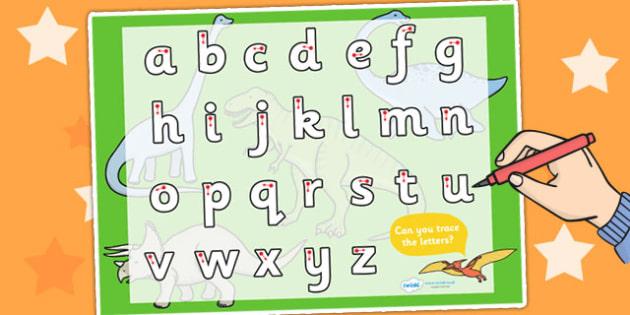 Dinosaur Themed Letter Writing Worksheet / Activity Sheet - dinosaurs, writing