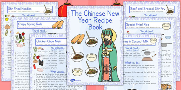Chinese New Year Recipe Booklet - australia, recipe, booklet
