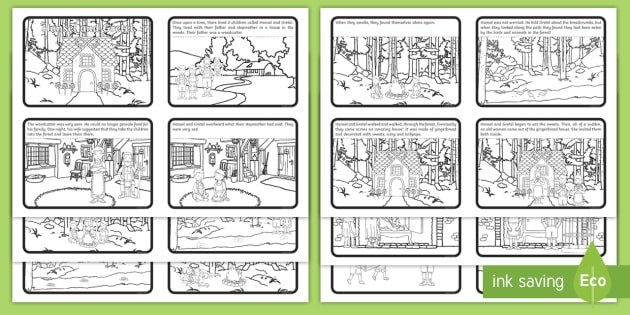 Picture sequencing worksheets