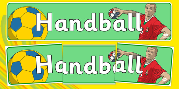 Rio 2016 Olympics Handball Display Banner - Handball, Olympics, Olympic Games, sports, Olympic, London, 2012, display, banner, poster, sign, activity, Olympic torch, events, flag, countries, medal, Olympic Rings, mascots, flame, compete