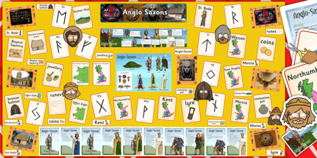Ready Made Anglo-Saxons Display Pack - ready  made, display, pack