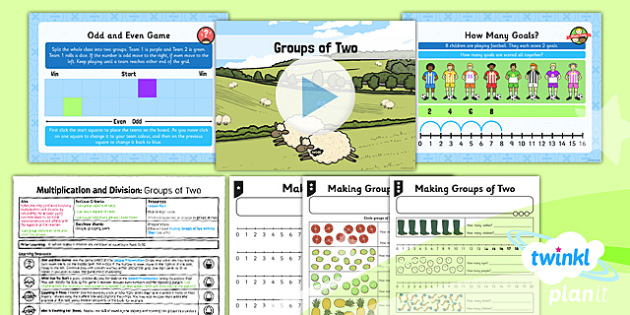 PlanIt Maths Y1 Multiplication and Division Lesson Pack Multiplying and Dividing by Two (1)