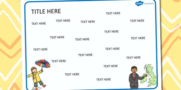 Weather Themed Editable Word Mat - literacy, words, writing, mats