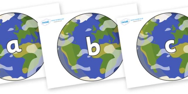 Phase 2 Phonemes on Planet Earth - Phonemes, phoneme, Phase 2, Phase two, Foundation, Literacy, Letters and Sounds, DfES, display