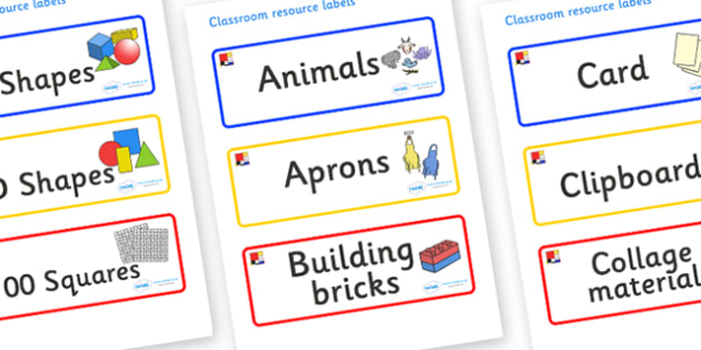 Mondrian Themed Editable Classroom Resource Labels - Themed Label template, Resource Label, Name Labels, Editable Labels, Drawer Labels, KS1 Labels, Foundation Labels, Foundation Stage Labels, Teaching Labels, Resource Labels, Tray Labels, Printable