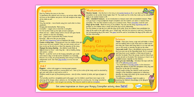 Ks1 Story Book Lesson Planning Lesson Plan