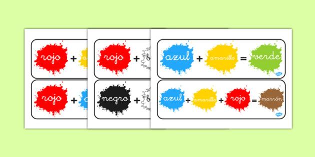 Cómo mezclar colores - colores, mezcla, mezclar, teoría del