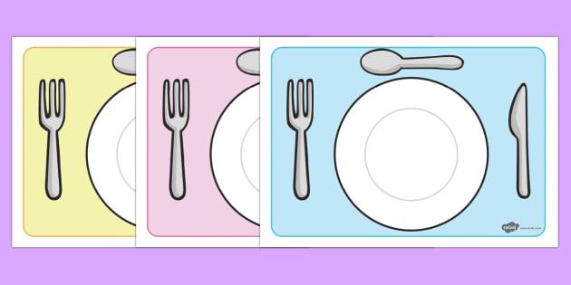 Plantillas de platos editables - comer, sano, saludable, equilibrado, alimentación, dieta,Spanish