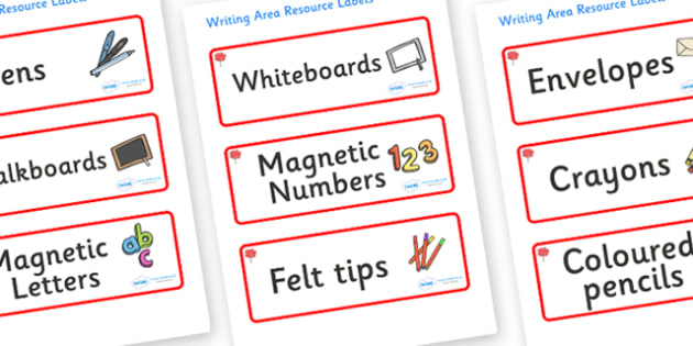 Maple Themed Editable Writing Area Resource Labels - Themed writing resource labels, literacy area labels, writing area resources, Label template, Resource Label, Name Labels, Editable Labels, Drawer Labels, KS1 Labels, Foundation Labels, Foundation