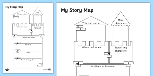 traditional tale story map worksheet traditional tale story. Black Bedroom Furniture Sets. Home Design Ideas