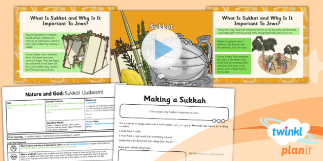 RE: Nature and God: Sukkot (Judaism) Year 2 Lesson Pack 4