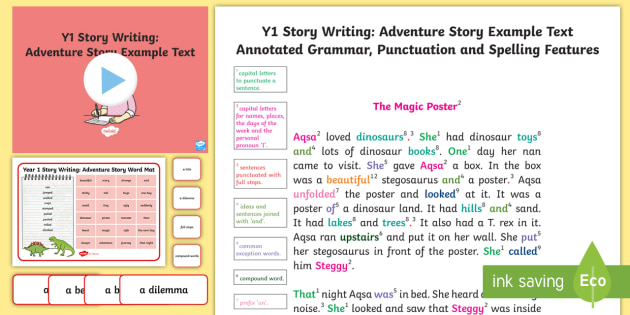 adventure stories ks2 examples