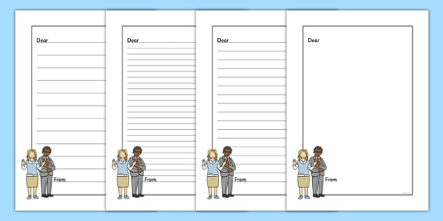 Please Can You Help Writing Template - Help, letter, please, writing, teacher, important