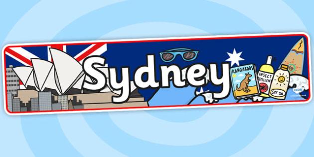 Sydney Role Play Banner- sydney, role play, banner, role play banner, sydney role play, sydney banner, display banner, australia role play
