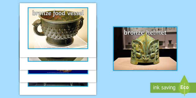 The Shang Dynasty Artefacts Display Photos - shang dynasty, photo