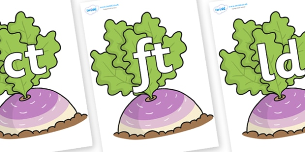 Final Letter Blends on Turnip in the Ground - Final Letters, final letter, letter blend, letter blends, consonant, consonants, digraph, trigraph, literacy, alphabet, letters, foundation stage literacy