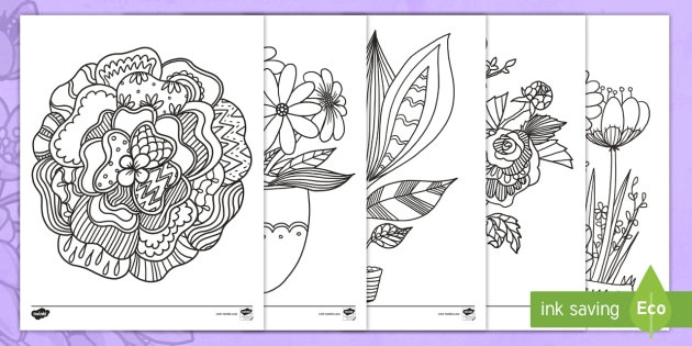 Mother S Day Mindfulness Colouring Pages Primary Resource