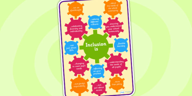 Inclusion Poster - inclusion, poster, display, display poster