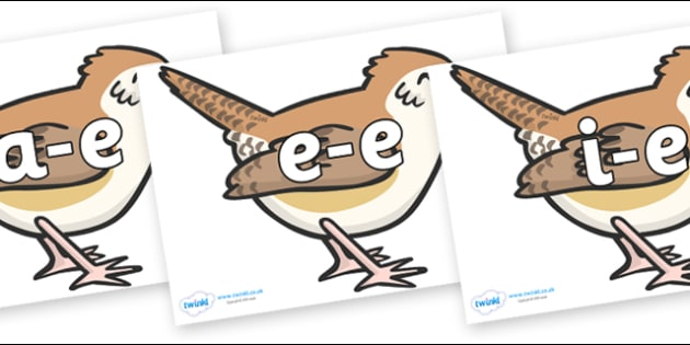 Modifying E Letters on Wrens - Modifying E, letters, modify, Phase 5, Phase five, alternative spellings for phonemes, DfES letters and Sounds