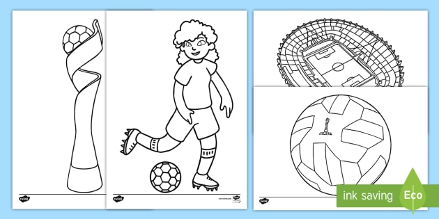 Free Printable FIFA World Cup Coloring Pages | 315x630