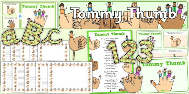 Tommy Thumb Resource Pack - tommy thumb, resource pack, resource