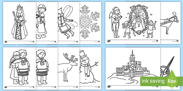The snow queen tale coloring pages - Hellokids.com | 315x630