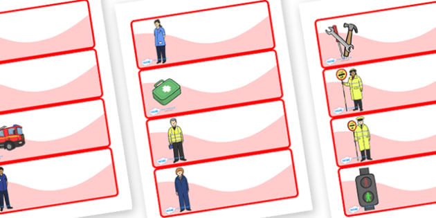 Editable Drawer- Peg - Name Labels (People Who Help Us) - Classroom Label Templates, Resource Labels, Name Labels, Editable Labels, Drawer Labels, Coat Peg Labels, Peg Label, KS1 Labels, Foundation Labels, Foundation Stage Labels, Teaching Labels, Re