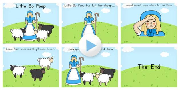 Little Bo Peep PowerPoint - Australia, Little, Bo, Peep, PPT