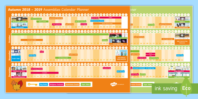 Calendar Ideas Ks2 : New ks assemblies planner display
