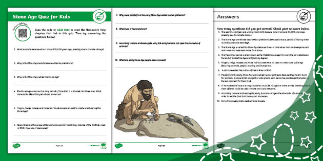 Stone Age Quiz For Kids Teacher Made Do you ever feel like you are older than your peers, or maybe younger? stone age quiz for kids teacher made