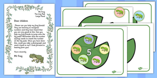 Counting Frogs Resource Pack - counting, frogs, resource, pack