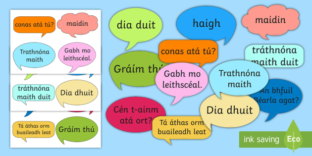 Social Greetings Prompt Cards Gaeilge - gaeilge, social, greeting, prompt cards, prompt, cards