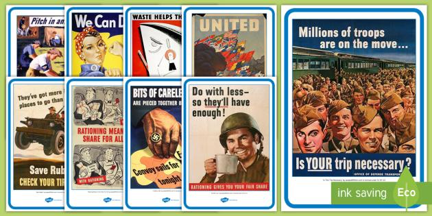 KS1 WW2 Propaganda Posters