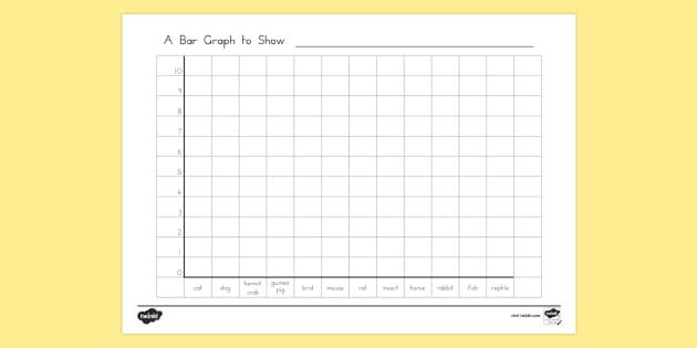 class pets bar graph template graph column graph picture