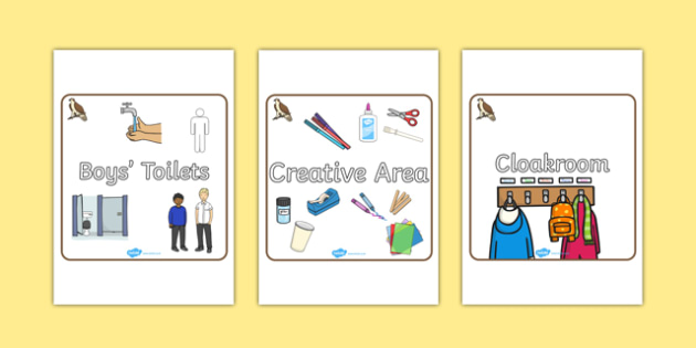 Osprey Themed Editable Square Classroom Area Signs (Plain) - Themed Classroom Area Signs, KS1, Banner, Foundation Stage Area Signs, Classroom labels, Area labels, Area Signs, Classroom Areas, Poster, Display, Areas