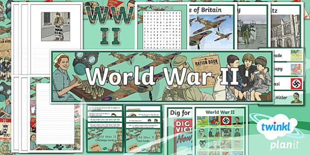 History: World War II UKS2 Additional Resources